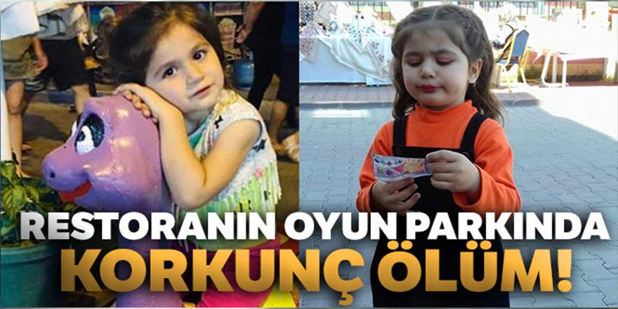 Mersin'de Restoranın Oyun Parkında Elektrik Akımına Kapılan Duru Tan Hayatını Kaybetti ile ilgili görsel sonucu