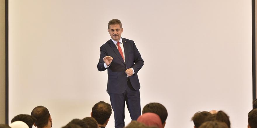 Murat Köse gençlere tavsiyelerde bulundu