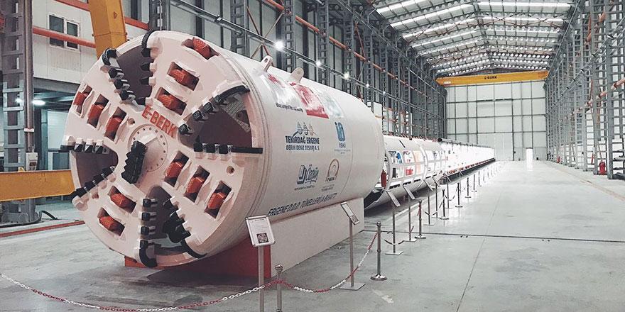 Tünel sektörüne E-Berk damgası