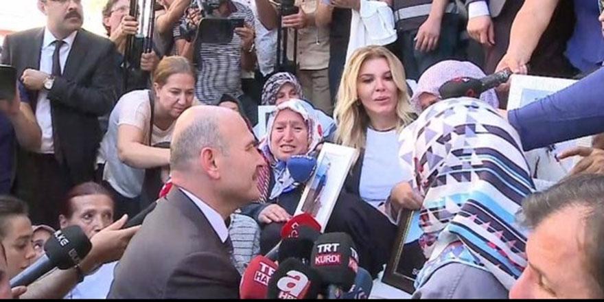 Süleyman Soylu, Diyarbakır annelerini ziyaret etti