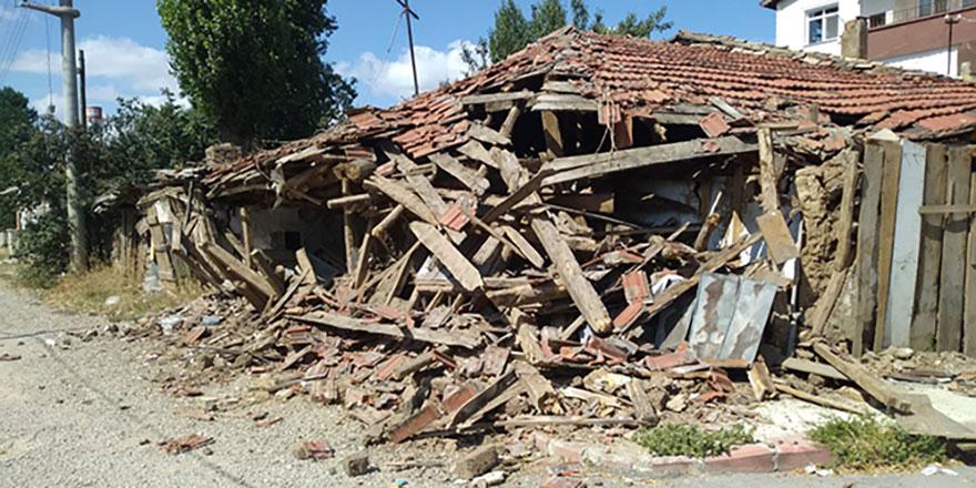 Çankırı depreminin yeni görüntüleri yayınlandı