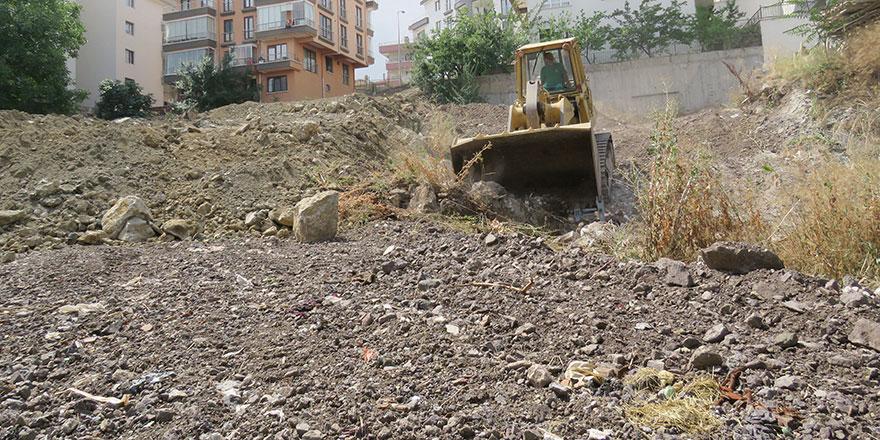 Çankaya Belediyesin'den yeni yol yapımı
