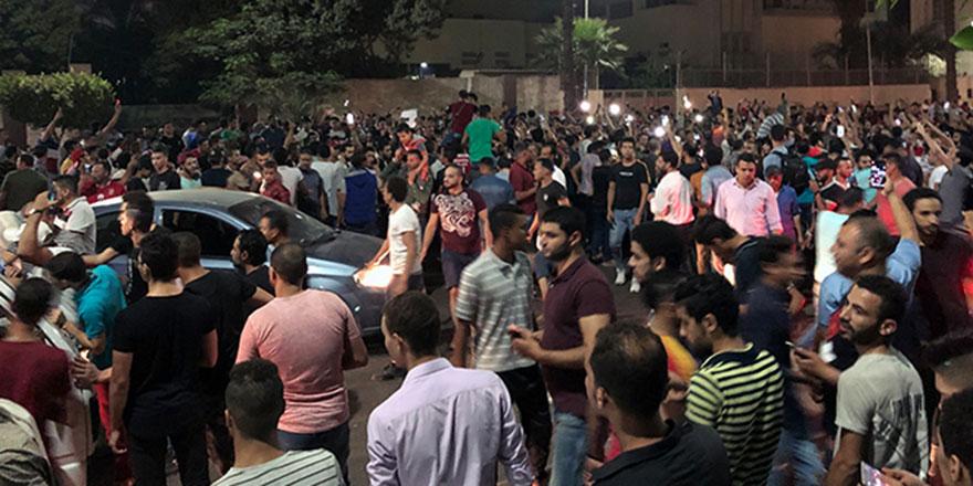 Sisi karşıtı protestolar Mısır'da sürüyor