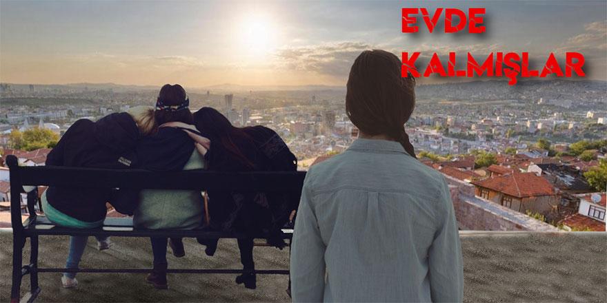 Evde Kalmışlar Ankara'da çekiliyor