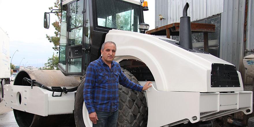 Ankara'da yerli iş makinası üretti