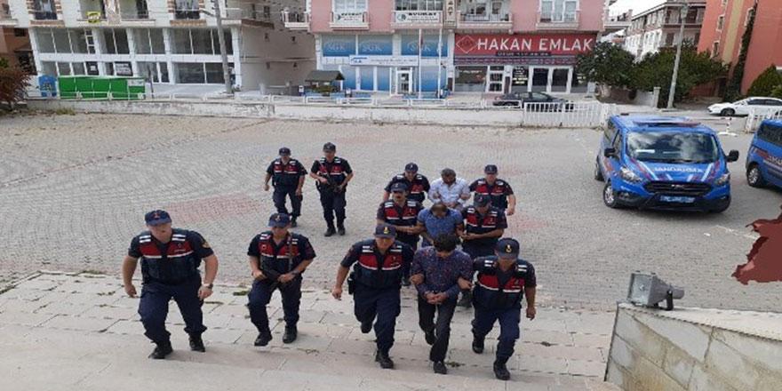 Kablo hırsızları Ankara'da yakalandı
