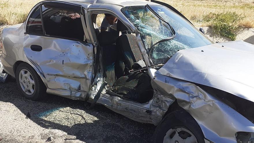 Kırıkkale'de kaza: 1 ölü, 10 yaralı