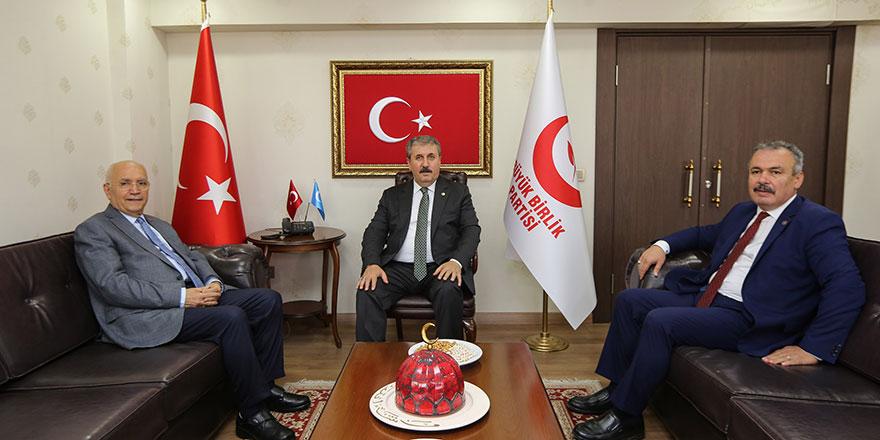 Başkan Yaşar'dan Destici'ye ziyaret