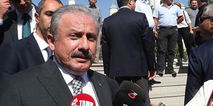 """TBMM Başkanı Şentop'tan """"50+1"""" açıklaması"""