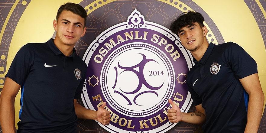 Osmanlıspor'da milli sevinç