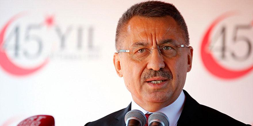 Cumhurbaşkanı Yardımcısı Fuat Oktay: Tehditlere boyun eğmeyiz