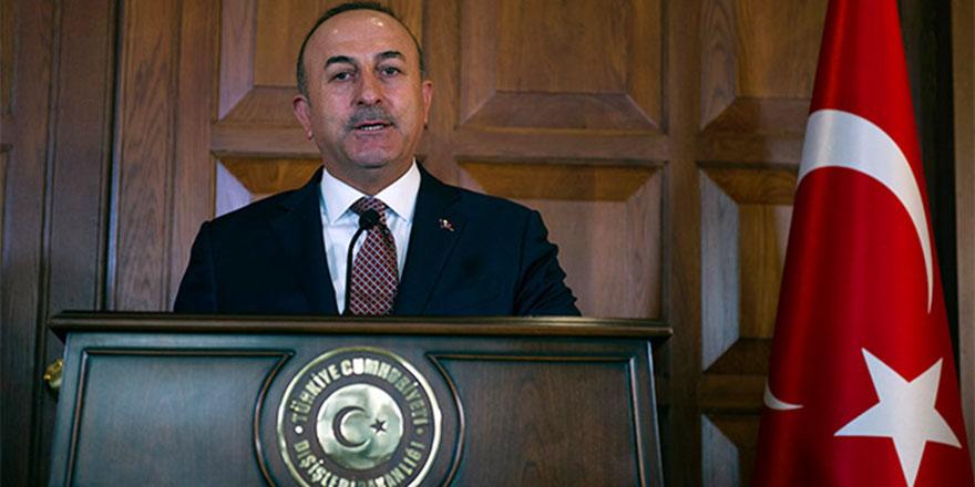 Dışişleri Bakanı Çavuşoğlu: Bizim hedefimiz teröristler