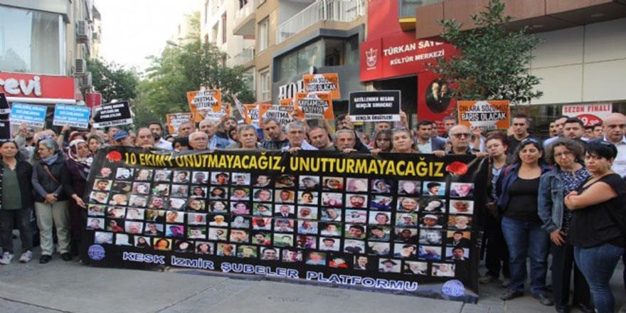 Gar katliamını anma etkinliğinde HDP-CHP gerginliği