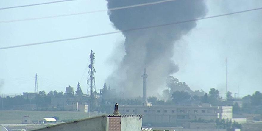 Tel Abyad yoğun bombardıman altında, teröristler kaçmaya başladı