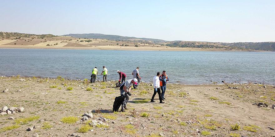 Ankara'da baraj göllerinde temizlik seferberliği