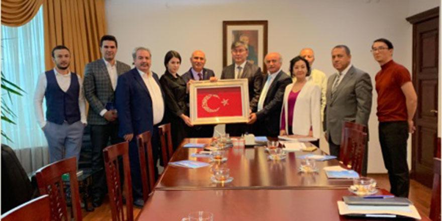 Türk iş insanlarını yatırım için Kazakistan'a bekliyoruz