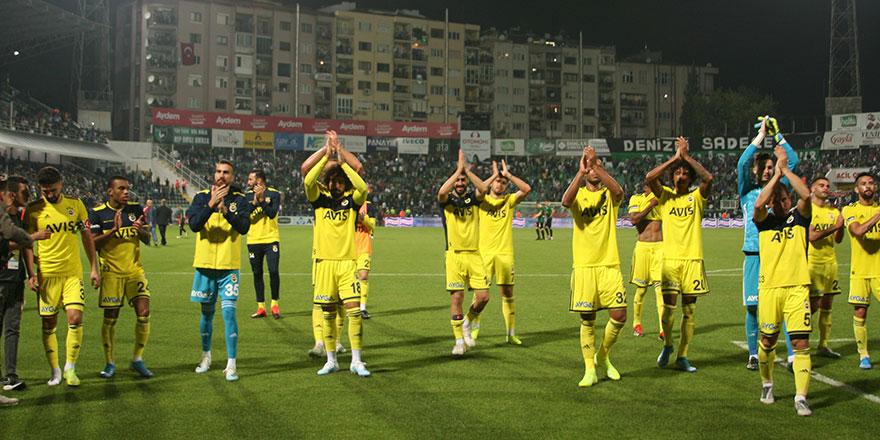 Fenerbahçe'de deplasman sevinci