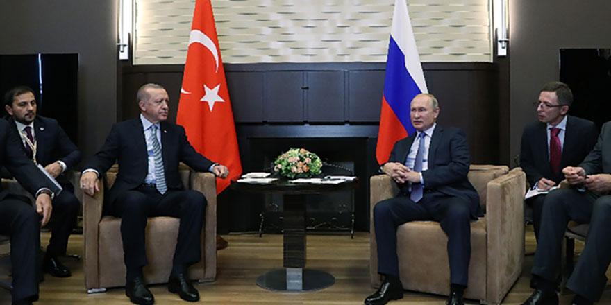 Soçi'de Erdoğan - Putin zirvesi sone erdi