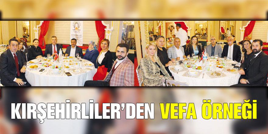 Kırşehirliler Vakfı Yıllık Olağan Kurucular Kurulu Toplantısını Gerçekleştirdi