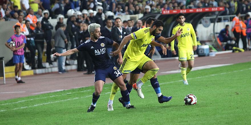 Fenerbahçe Mersin'de turu kaptı