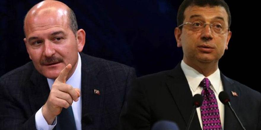 Süleyman Soylu'dan Ekrem İmamoğlu'na çok sert tepki