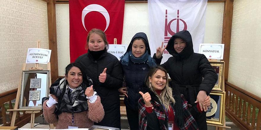 Kazakistan'da Keçiören rüzgarı