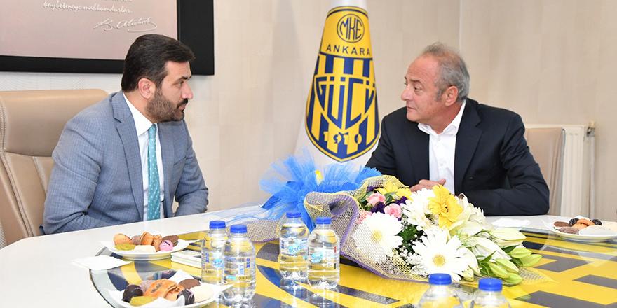 Murat Cavcav'dan hayırlı olsun ziyareti