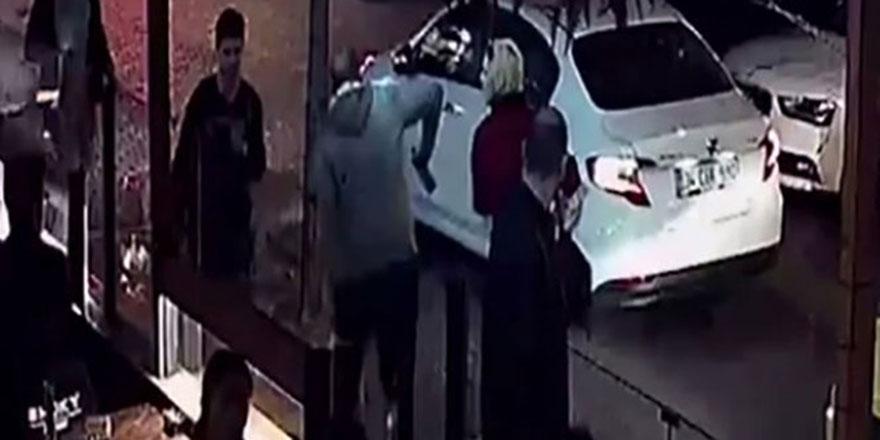 İstanbul'da kadına yumruklu saldırı kameralara yansıdı