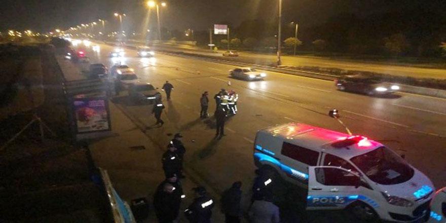 Ankara'da feci kaza! 1 kişi öldü