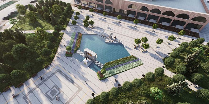 Başkent'e yeni Meydan
