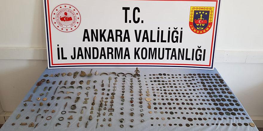 Tarihi eser kaçakçılığına Ankara'da darbe