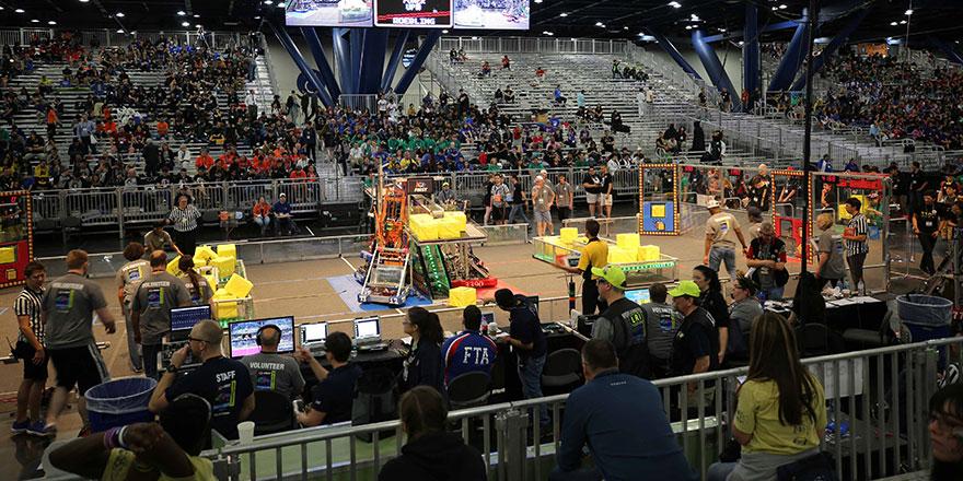 Dünyanın en prestijli  Robot Yarışması Ankara'da