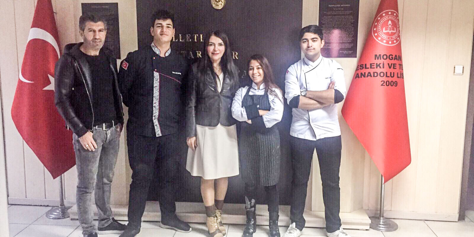 Mogan Mesleki Teknik Anadolu Lisesi Gastronomi Festivali Yemek Yarışması'na 3 öğrenci ile katıldı