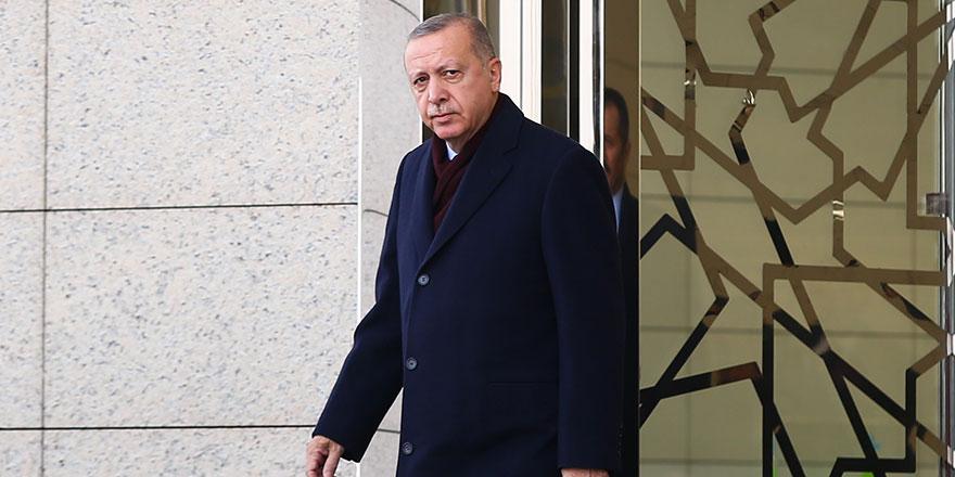 Cumhurbaşkanı Erdoğan Katar'a hareket etti
