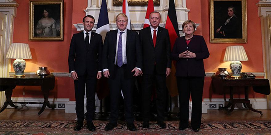 Dört lider Suriye konusunda uzlaştı