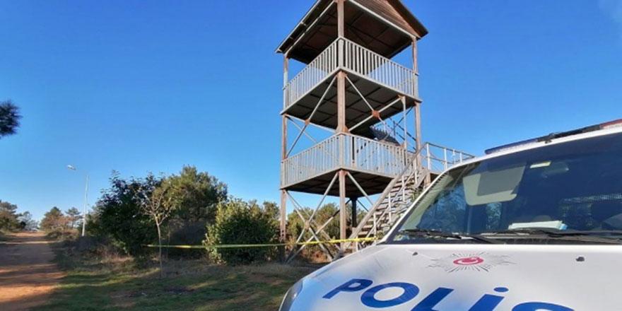 Fabrika işçisi gözetleme kulesinde asılı bulundu
