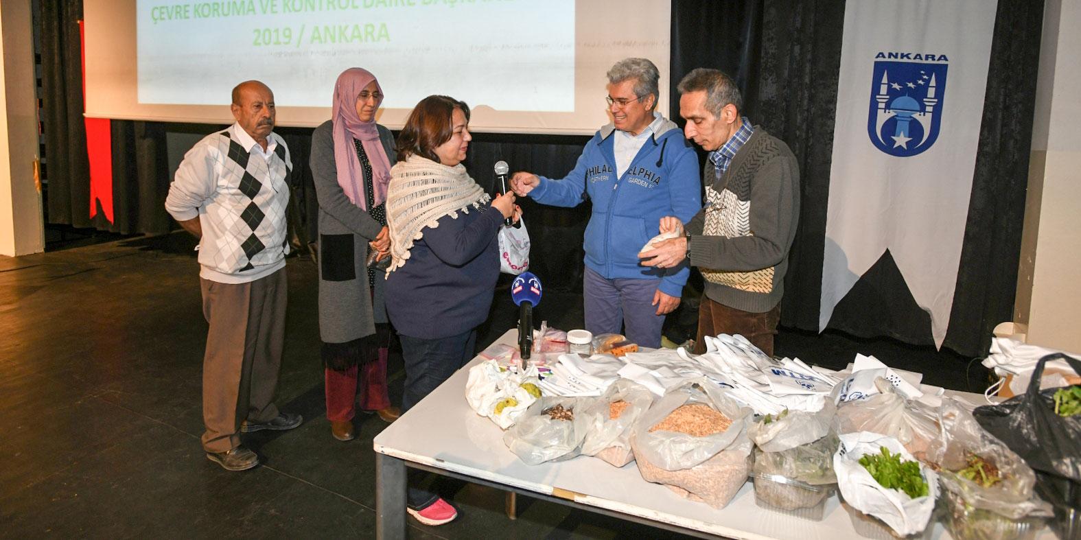 Ankara Büyükşehir'den kırsal kalkınmaya destek