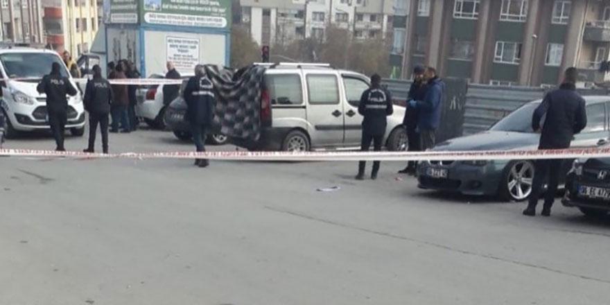 Ankara'da korkunç ölüm