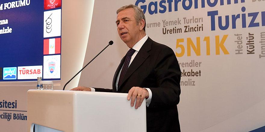 Başkan Yavaş,  8. Bilkent Turizm Forumu'na katıldı