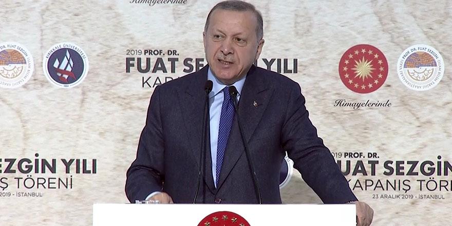 Cumhurbaşkanı Erdoğan: Müteahhitlere tehdit savuruyorlar