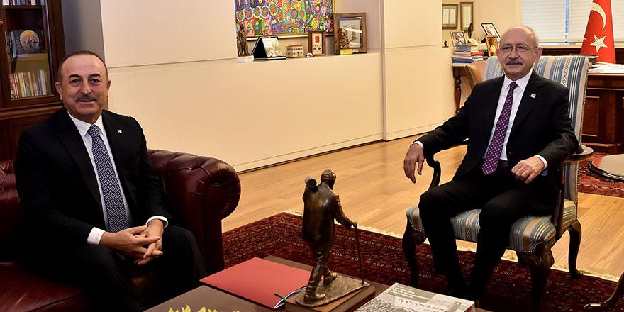 Çavuşoğlu, Libya Tezkeresi konusunda Kılıçdaroğlu'nu bilgilendirdi