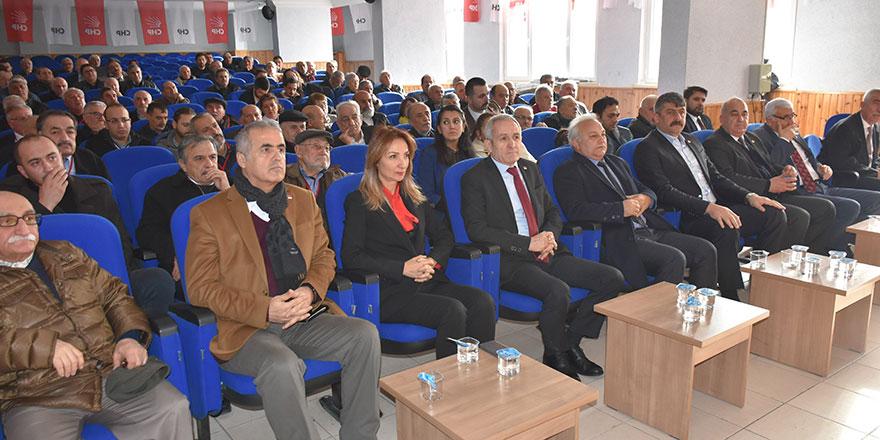 """CHP Kızılcahamam'da """"Enver Yılmaz ile devam"""" dedi"""