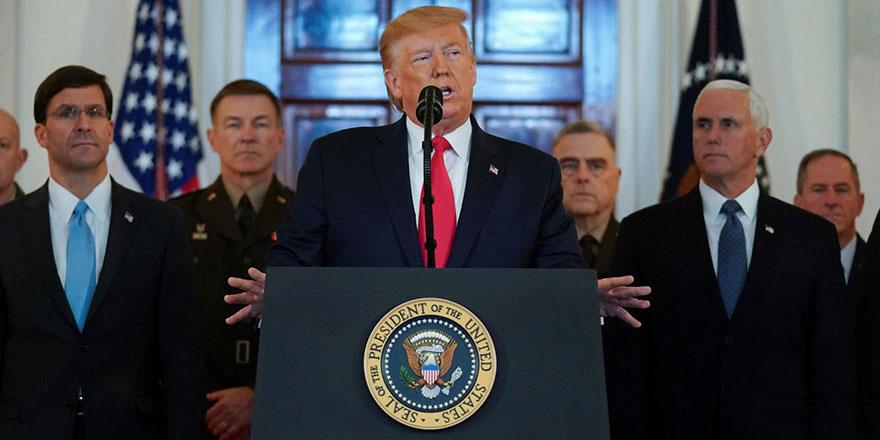 Trump: İran'a yaptırımlar sürecek