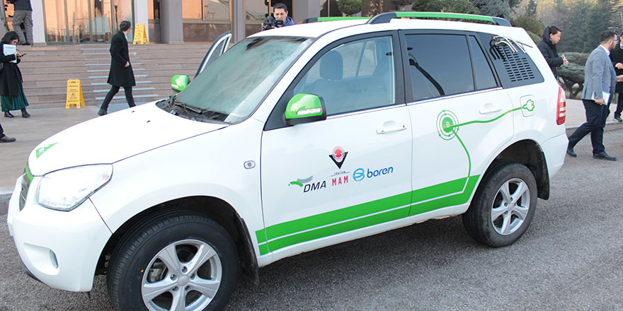 Hidrojenle çalışan araç test edildi
