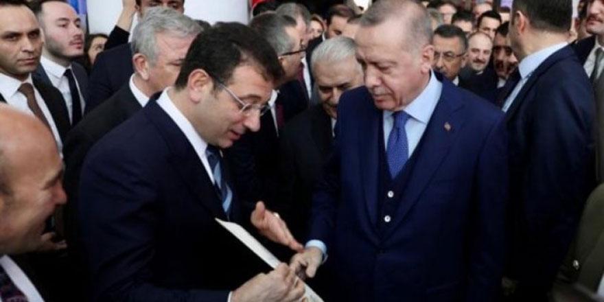 Ekrem İmamoğlu, Cumhurbaşkanı Erdoğan ile görüştü!