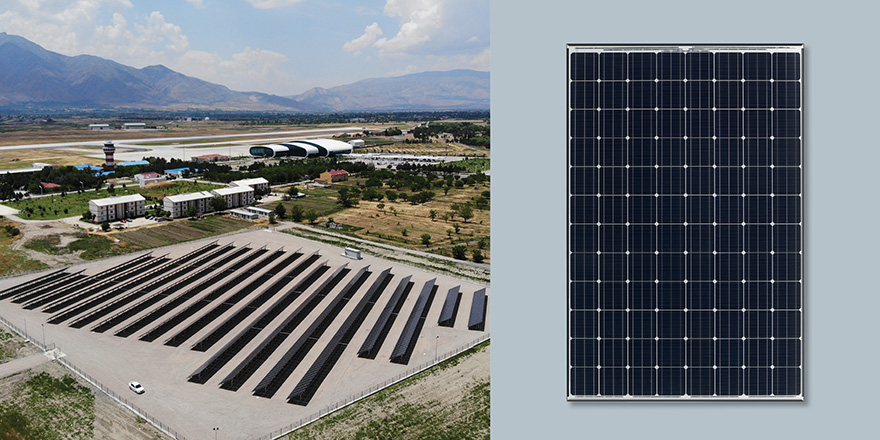 Panasonic Erzincan Havalimanı'nı aydınlatacak