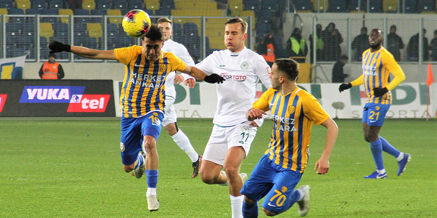 MKE Ankaragücü: 0 - İttifak Holding Konyaspor: 1