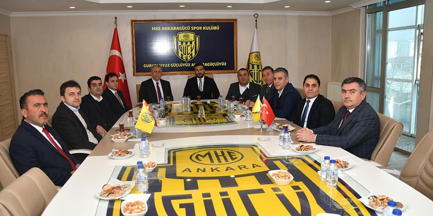 Yavaş: Ankaragücü'nün destekçisi olacağız