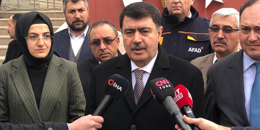 Ankara Valisi Şahin'den deprem açıklaması