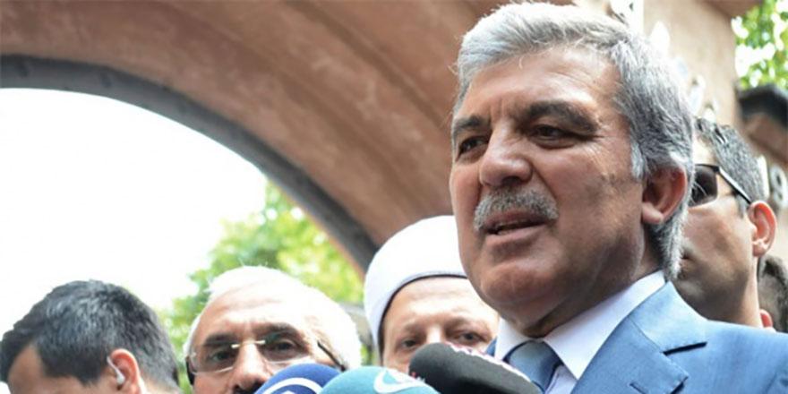 Elazığ'daki deprem sonrası Abdullah Gül'den açıklama!